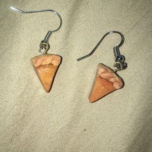 pumpkin pie 🥧 earrings